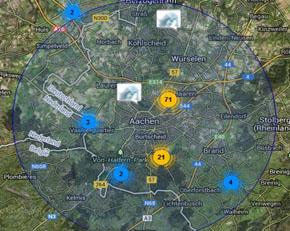 Locations in Deiner Nähe anzeigen